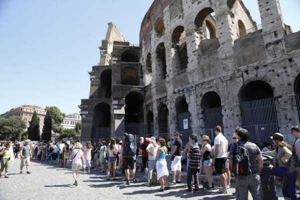 Colosseo chiuso: disagi