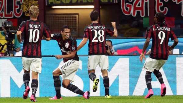 Milan: Un Super Bacca contro il Palermo ti fa vincere per 3 a 2