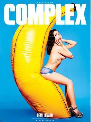 Demi Lovato nuda sulla copertina di Complex Magazine