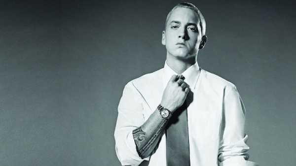 Una foto del rapper Eminem
