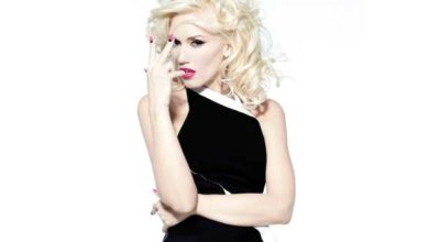 Gwen Stefani in una foto da bionda