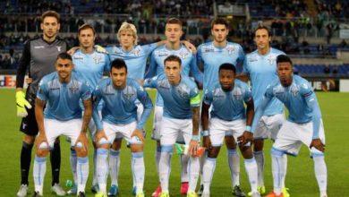 Una foto della rosa della Lazio nella stagione 2015/16