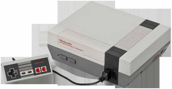 una foto della console NES