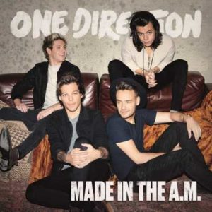 One Direction Made In the A.M.. - la cover