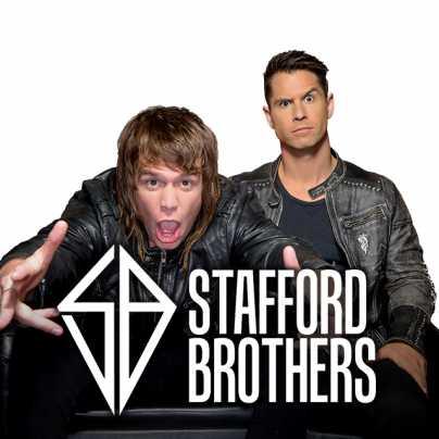 Una foto con i Stafford Brothers