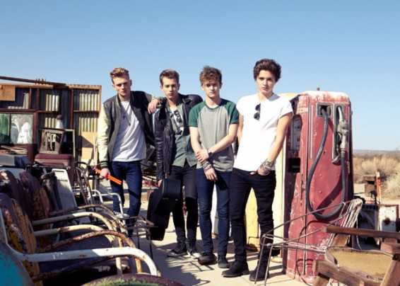 Una foto della band The Vamps