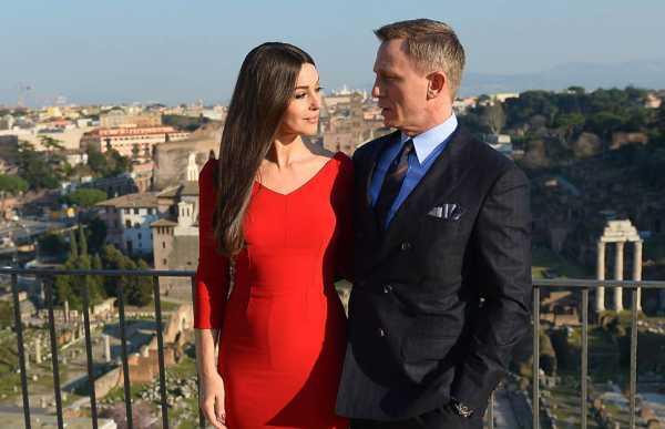 Daniel Craig e Monica Bellucci, i due hanno recitato nel film Spectre.