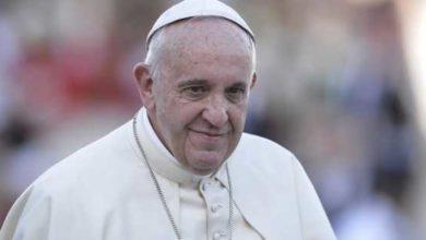 Una foto di Papa Francesco.