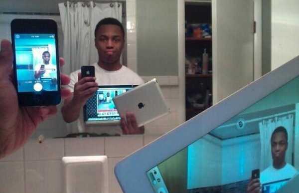selfies più stupidi e originali del 2015