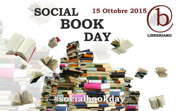 La locandina del Social Book Day del 15 Ottobre 2015