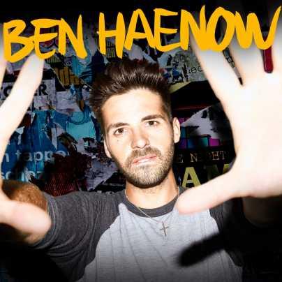 copertina dell'album Ben Haenow con raffigurato l'omonimo cantante