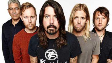 I Foo Fighters in una foto