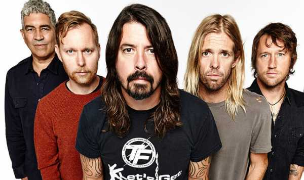 I Foo Fighters in una foto