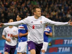 sampdoria fiorentina 0 2 pagelle