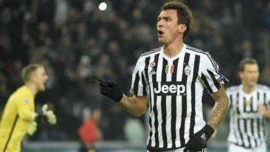 Mandzukic in goal con la Juventus