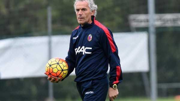 Roberto Donadoni nelle vesti di allenatore del Bologna