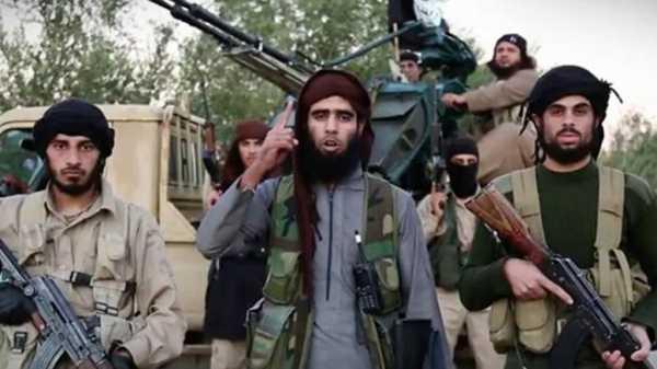 un gruppo di militanti dell'Isis
