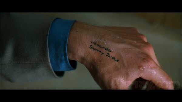 una foto dal film Memento