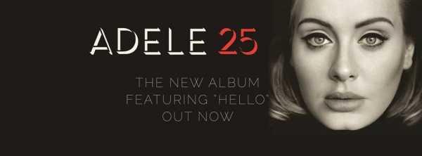 Adele - 25 - poster album