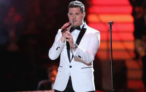 Michael Buble Live Set Natale
