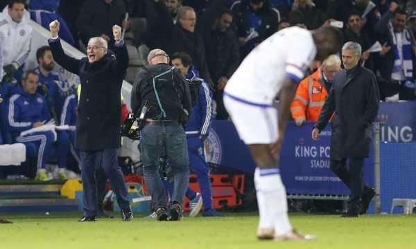Ranieri e Mourinho
