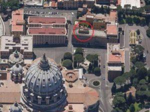 attico del cardinal bertone a Roma