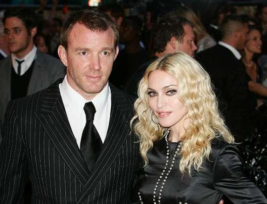 musicisti con il divorzio più caro - Madonna e Guy Ritchie