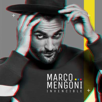 Marco Mengoni - Invencible - cover