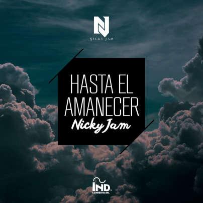 Nicky Jam - Hasta el amanecer cover