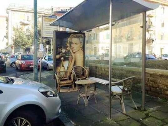 Napoli fermata autobus originale