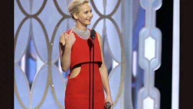 Jennifer Lawrence Golden Globe 2016