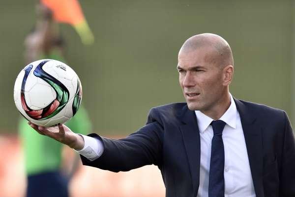 Zinedine Zidane foto allenatore