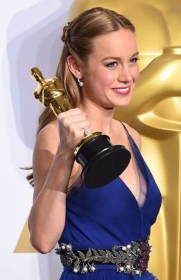 Brie Larson foto Oscar