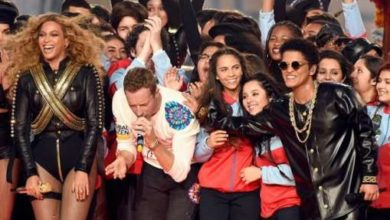 Coldplay Beyonce Bruno Mars Super Bowl