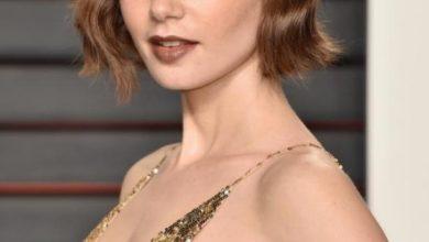 Lily Collins sexy Oscar 2016