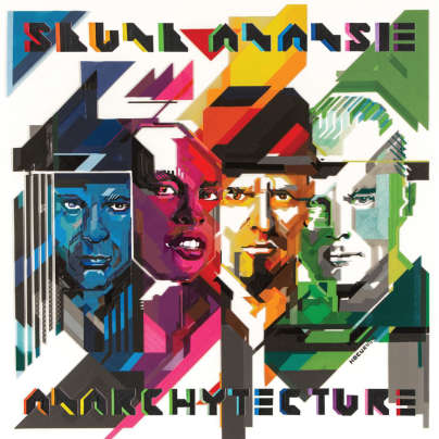 Skunk Anansie - Anarchytecture cover