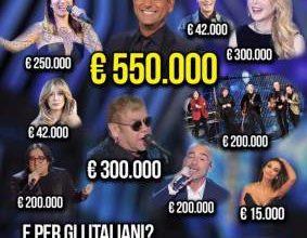 costo ospiti Sanremo 2016