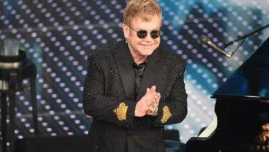 1 serata 66 festival di sanremo - Elton John
