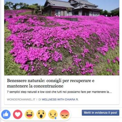 faccine dissenso su Facebook - reactions