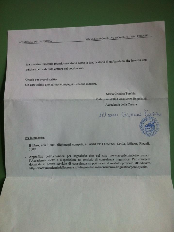 Lettera Petaloso