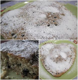 ricetta torta di mirtilli e ciocciolato
