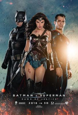 Batman v Superman: Dawn of Justice locandina