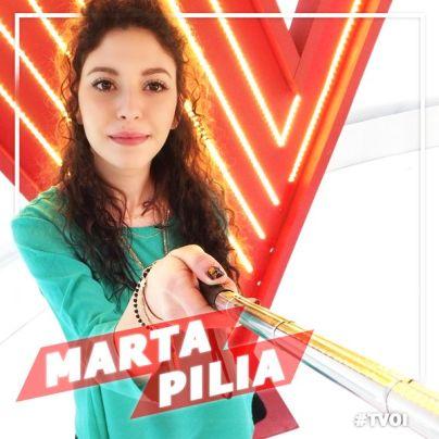 Marta Pilia The Voice