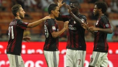 Milan Lazio 1 1 Bacca