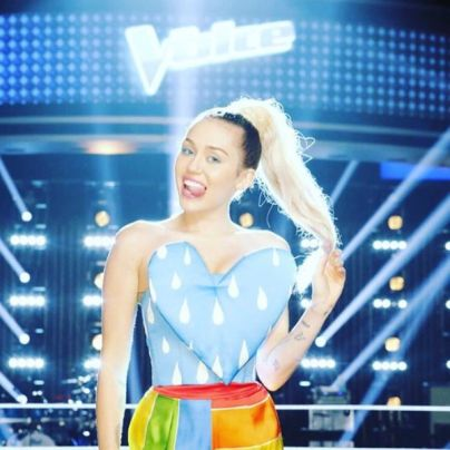 Miley Cyrus The Voice of USA