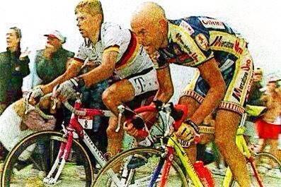 Pantani e Jan Ullrich