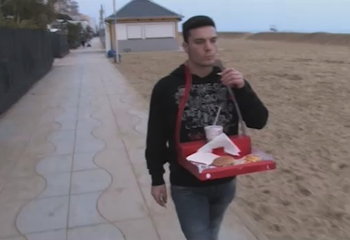 Nele Alihodzic - pizza da passeggio