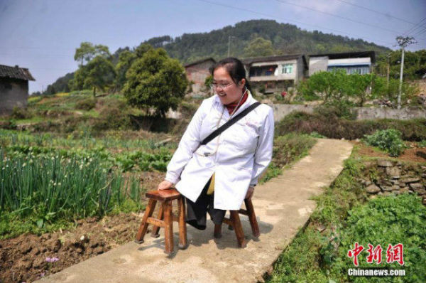 dottoressa senza gambe Cina