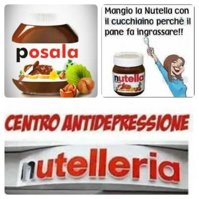 Anniversario 52 Nutella - rimedio anti depressione