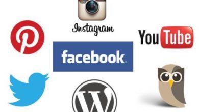 Icone dei Social Media